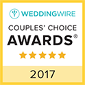 Wedding Wire Award Couples Choice 2017