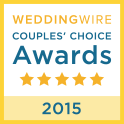 Wedding Wire Award Couples Choice 2015