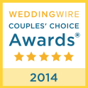 Wedding Wire Award Couples Choice 2014