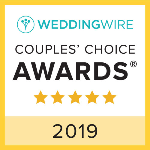 Wedding Wire Award Couples Choice 2019
