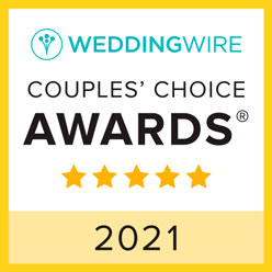 Wedding Wire Couples Award 2021